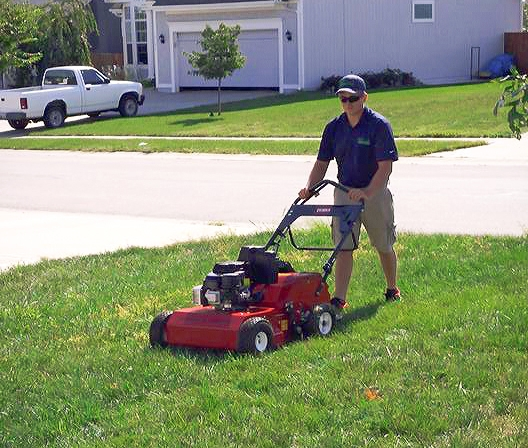 lawn aeration in lees summit